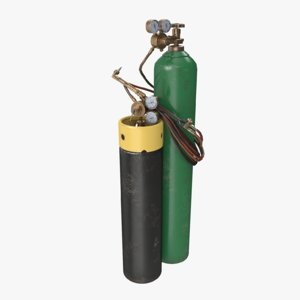 3D welding cylinder