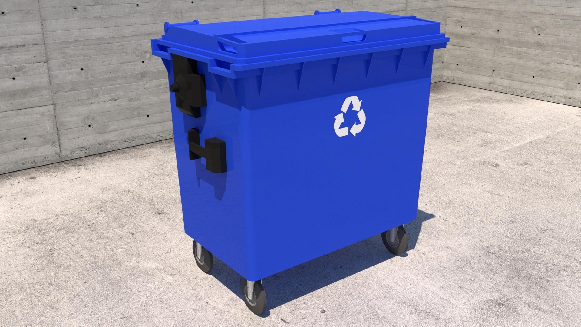 3D model bin recycle