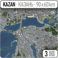 kazan surrounding - 3D
