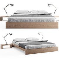 Ki - Low Loft Wooden Bed
