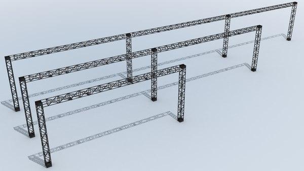 3D metal gantry