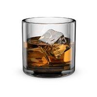Whiskey Glass Round