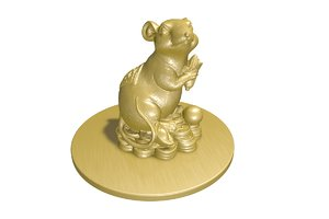 china mouse 3D