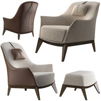 3D giorgetti normal chairs model
