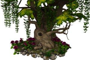 tree flora model