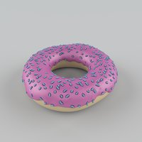 3D donut