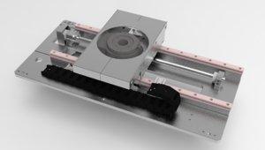 3D horizontal motion rotation integrated