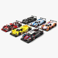 3D imsa prototype challenge season model
