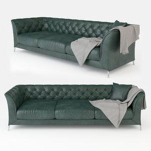 3D sofa blanket