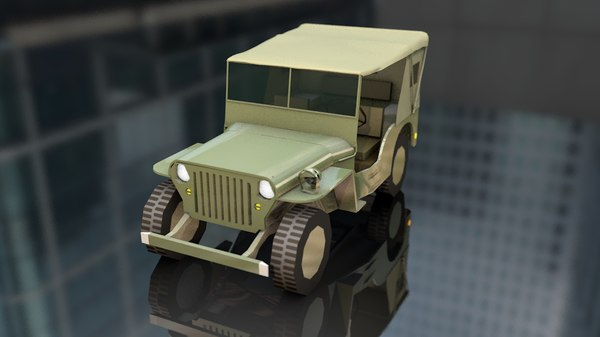 military jeep willys model