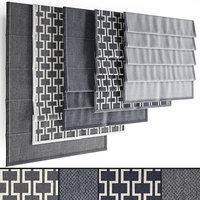Roman blinds set 24