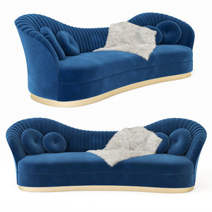 3D kelly sofa model