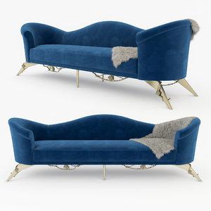 3D colette sofa