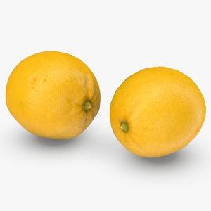 lemon 2 polys model