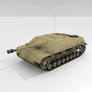 3D sdkfz jagdpanzer iv l
