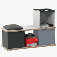 yu bench 3x1 3D model