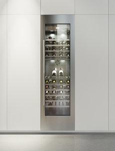 3D gaggenau wine rw464361 refrigerator model