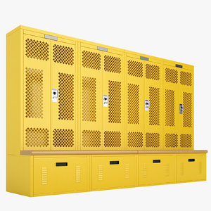 3D locker storage