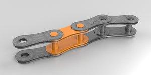 chain motors 3D