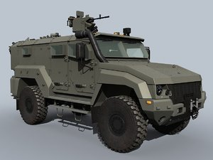 3D russian typhoon k-53949 rcws model