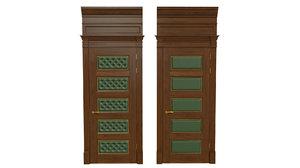 classic wooden door 02 model