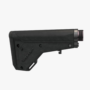 magpul ubr buttstock 3D model