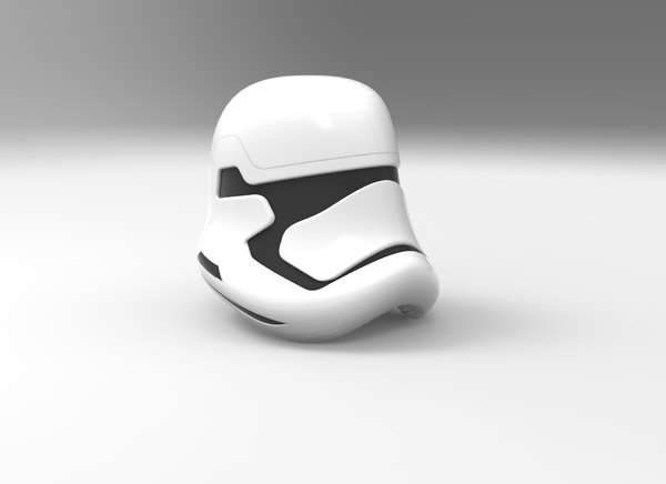 new order stormtrooper helmet 3D model