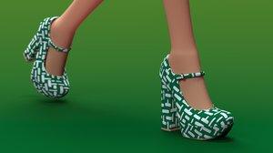 shoe pumps model