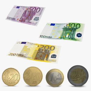 3D euro money