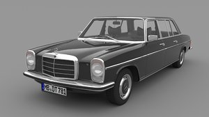 mercedes benz w115 limousine 3D model