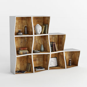 3D bookcase db005500