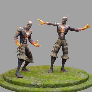 league legends bard 3D model