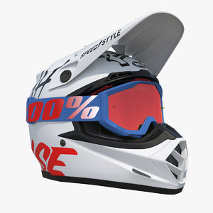 bell off-road helmet road 3D
