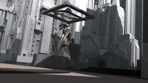personal project metropolis 3D model