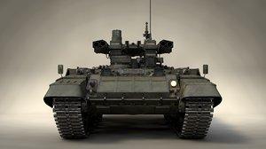 russian terminator 3 tank model