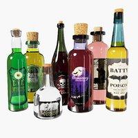 Halloween Bottle Set