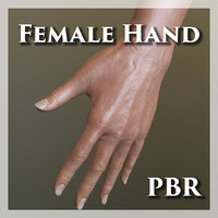 Female Hand PBR