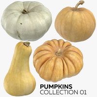 3D pumpkins 01