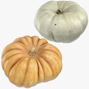 pumpkins 03 3D