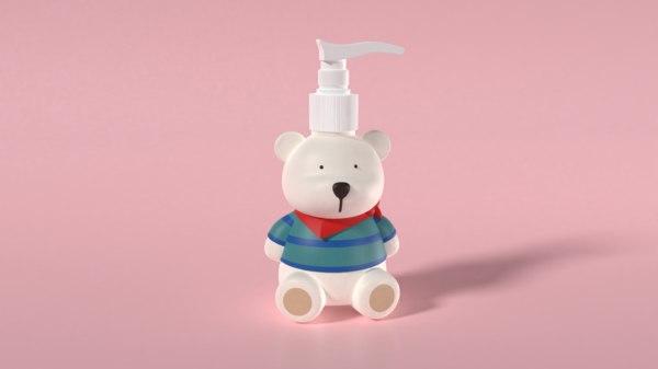 3D soap dispenser