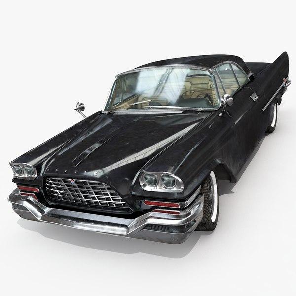 chrysler 300 c 1957 3D model