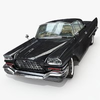 chrysler 300 c 1957 3D model