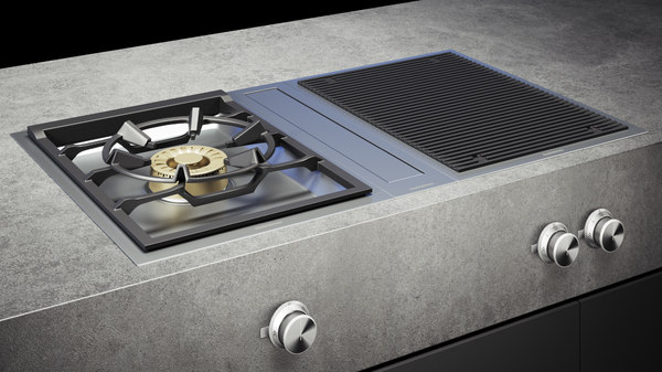 gaggenau grill cooktop vg415211 3D model