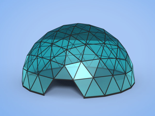 geodesic dome model