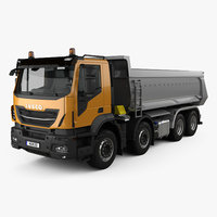 Iveco Stralis X-WAY Tipper Truck 2017