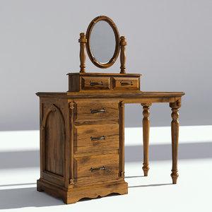 mirror old set model