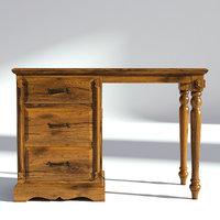Victorian Desk Old Natural
