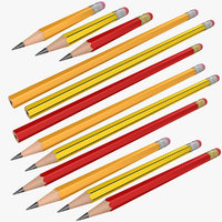 pencil 2 3D model