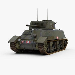 3d canadian ram 2 tank model