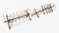 Barbed Wire Obstacle PBR